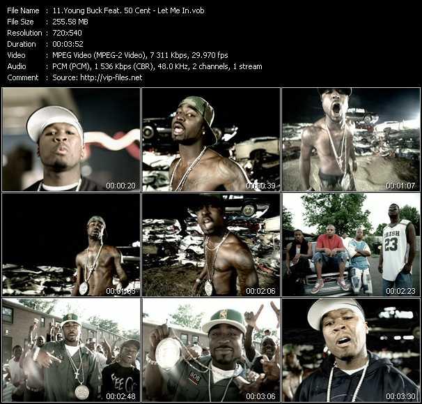 Young Buck Feat. 50 Cent video screenshot