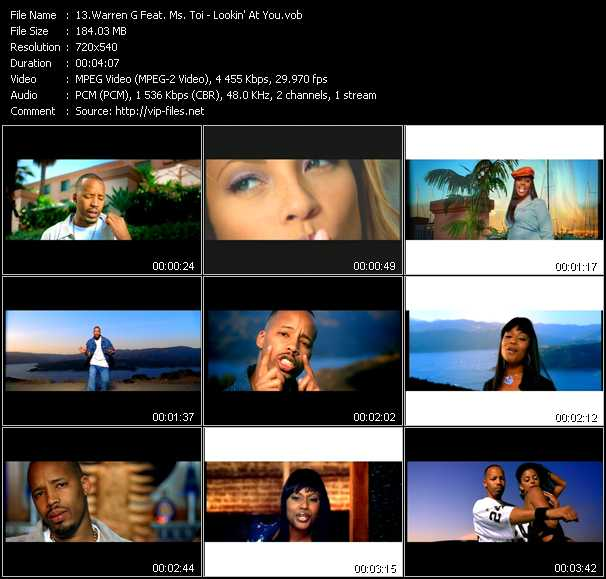 Warren G Feat. Ms. Toi video screenshot
