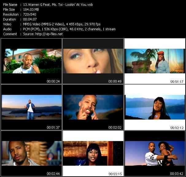 Warren G Feat. Ms. Toi video screenshot