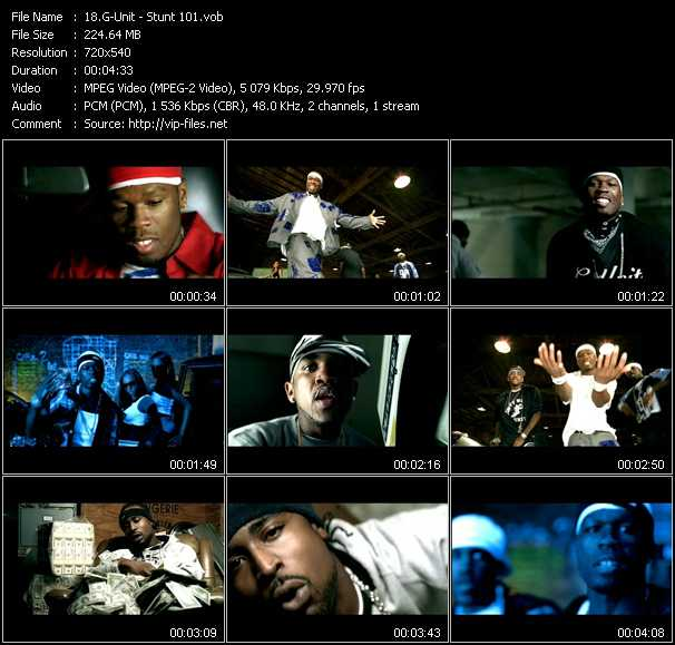 G-Unit video screenshot