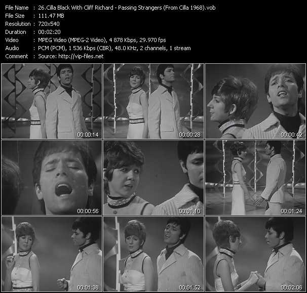 Cilla Black With Cliff Richard video screenshot