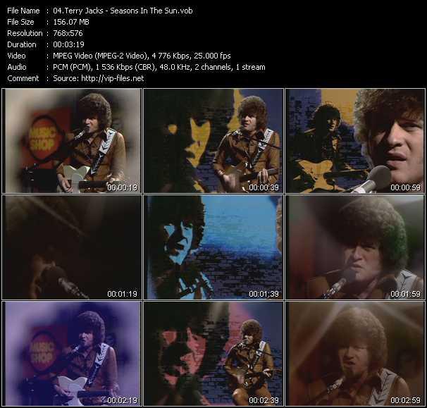 Terry Jacks video screenshot