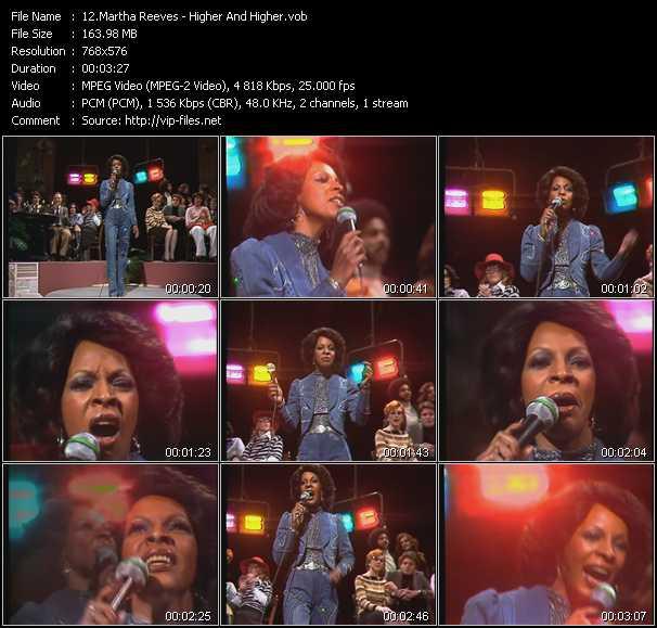 Martha Reeves video screenshot