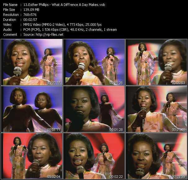Esther Phillips video screenshot