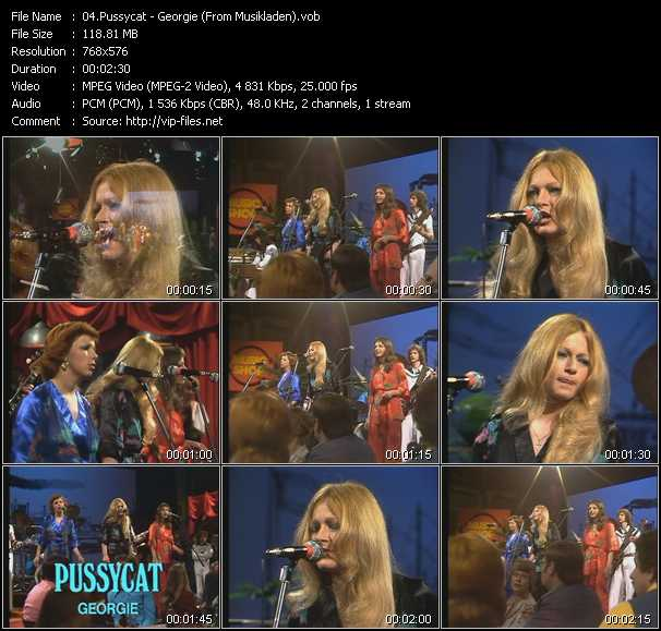 Pussycat video screenshot