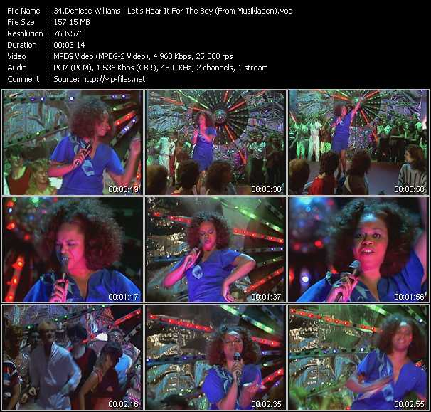 Deniece Williams video screenshot