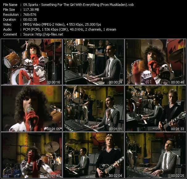 video Something For The Girl With Everything (From Musikladen) screen