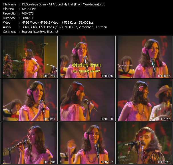 Steeleye Span video screenshot