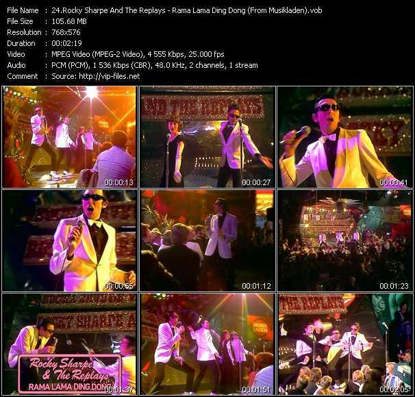 Rocky Sharpe And The Replays video screenshot