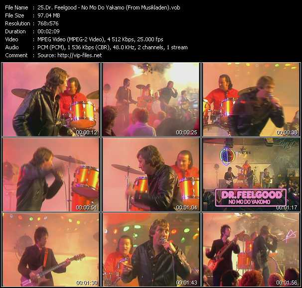 Dr. Feelgood video screenshot