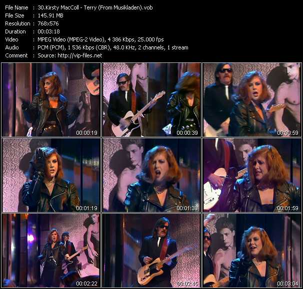 Kirsty MacColl video screenshot