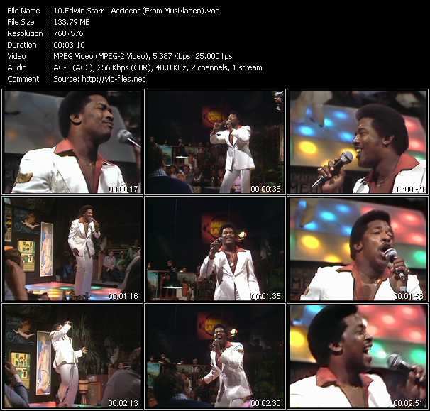 Edwin Starr video screenshot
