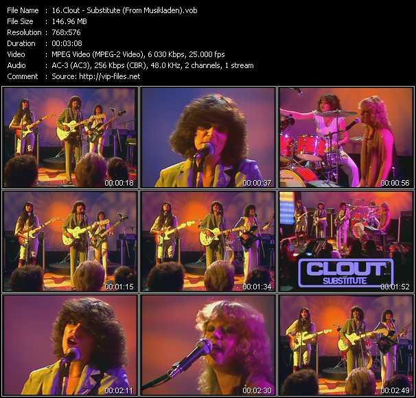 Clout video screenshot