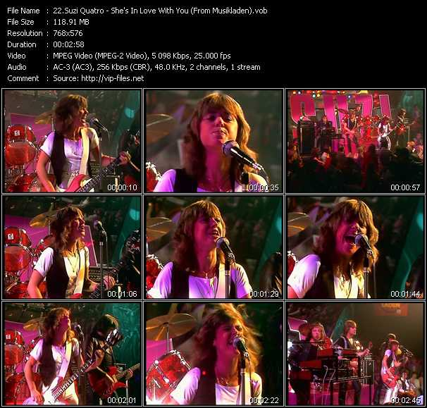 Suzi Quatro video screenshot