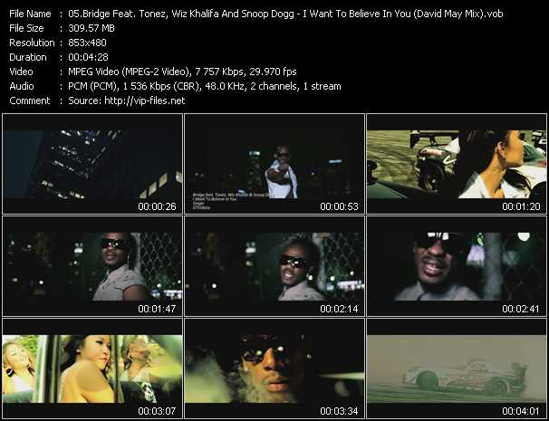 Bridge Feat. Tonez, Wiz Khalifa And Snoop Dogg video screenshot