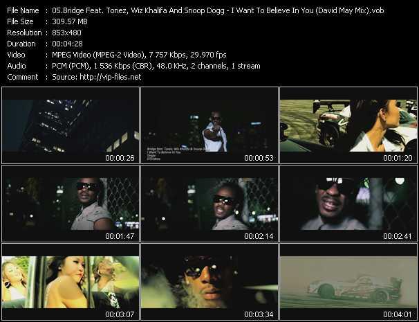 Bridge Feat. Tonez, Wiz Khalifa And Snoop Dogg video screenshot