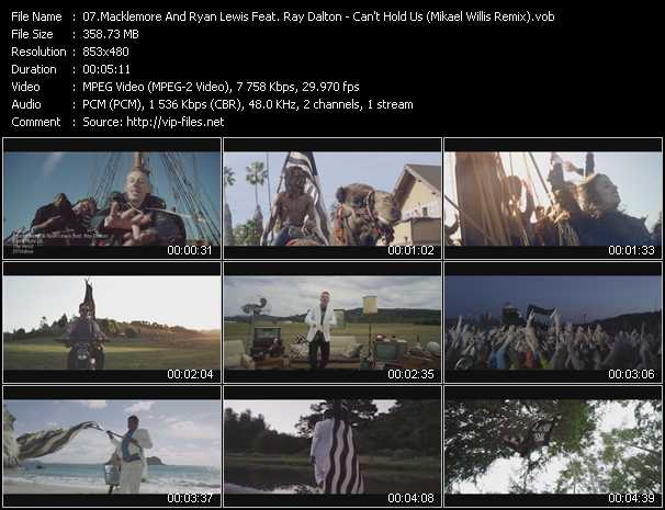 Macklemore And Ryan Lewis Feat. Ray Dalton video screenshot