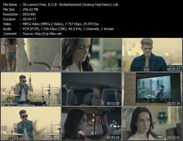 Lawson Feat. B.O.B. video screenshot