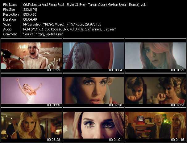 Rebecca And Fiona Feat. Style Of Eye video screenshot
