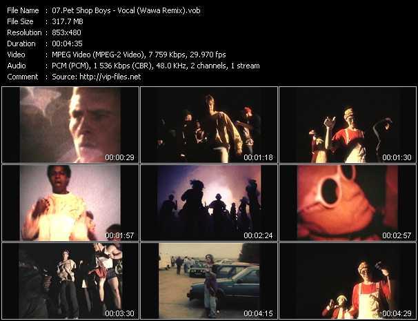 video Vocal (Wawa Remix) screen