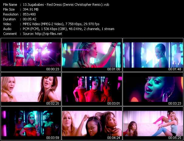 video Red Dress (Dennis Christopher Remix) screen