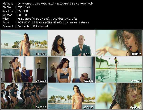Priyanka Chopra Feat. Pitbull video screenshot