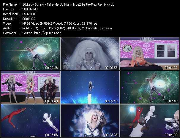 Lady Bunny video screenshot