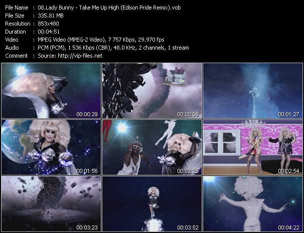 Lady Bunny video screenshot