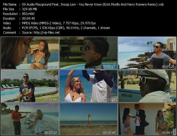 Audio Playground Feat. Snoop Lion video screenshot