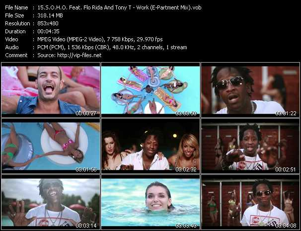 S.O.H.O. Feat. Flo Rida And Tony T video screenshot