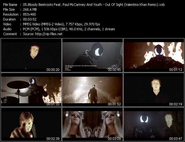 Bloody Beetroots Feat. Paul McCartney And Youth video screenshot