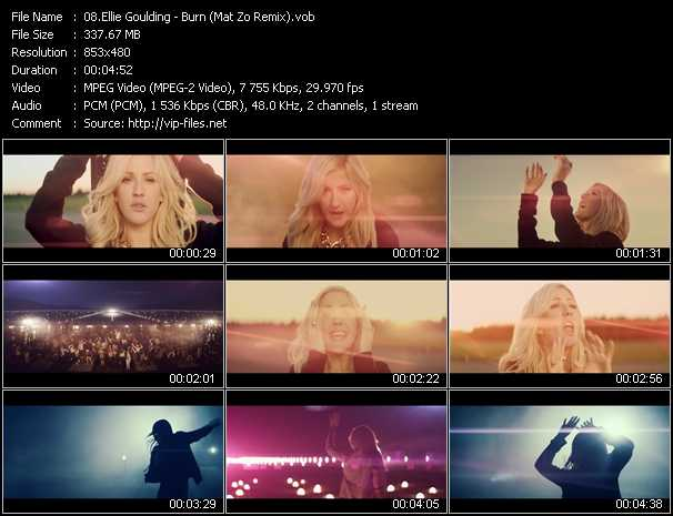 Ellie Goulding video screenshot