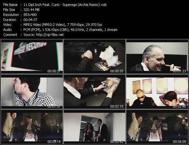 Dipl.Inch Feat. Curio video screenshot