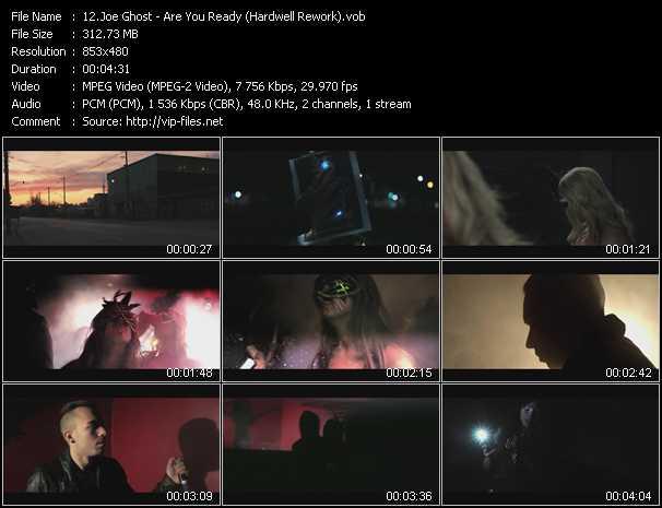 Joe Ghost video screenshot