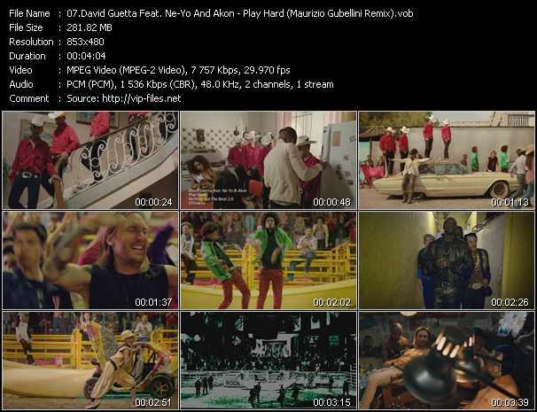 video Play Hard (Maurizio Gubellini Remix) screen