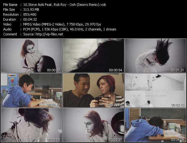 Steve Aoki Feat. Rob Roy video screenshot