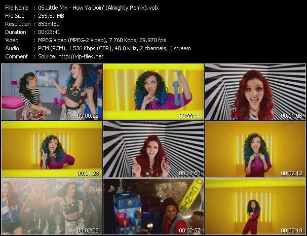 Little Mix video screenshot