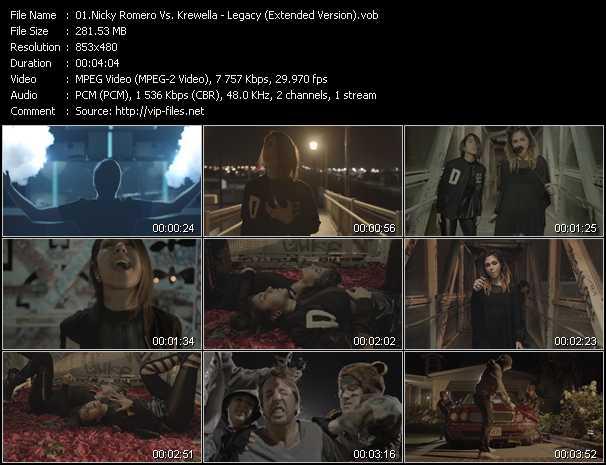 Nicky Romero Vs. Krewella video screenshot