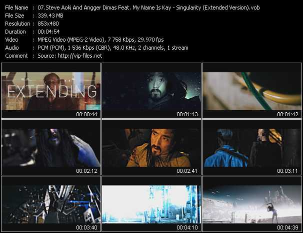 Steve Aoki And Angger Dimas Feat. My Name Is Kay video screenshot