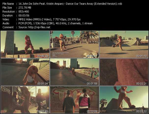 John De Sohn Feat. Kristin Amparo video screenshot