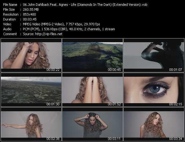 John Dahlback Feat. Agnes video screenshot