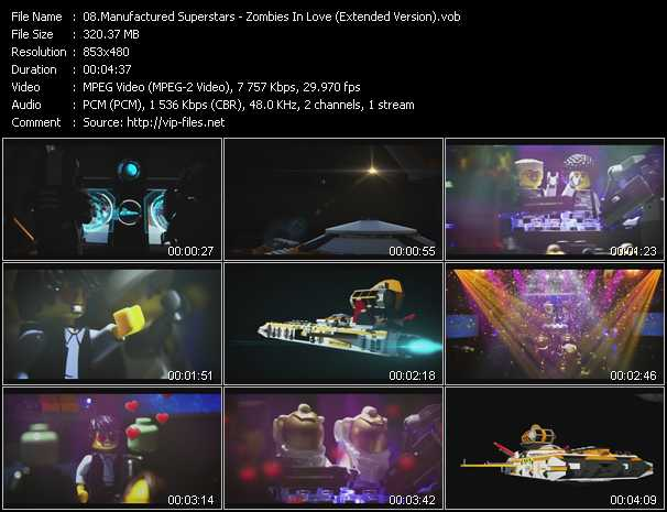 Manufactured Superstars video screenshot