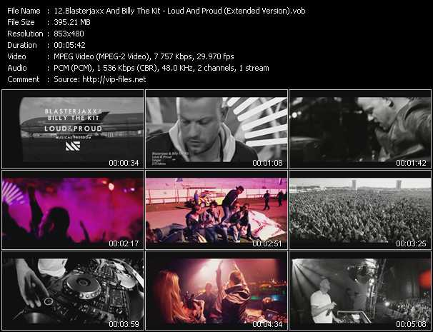Blasterjaxx And Billy The Kit video screenshot