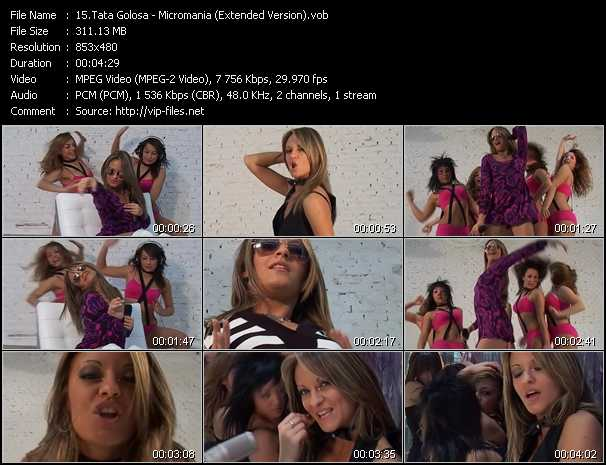 Tata Golosa video screenshot