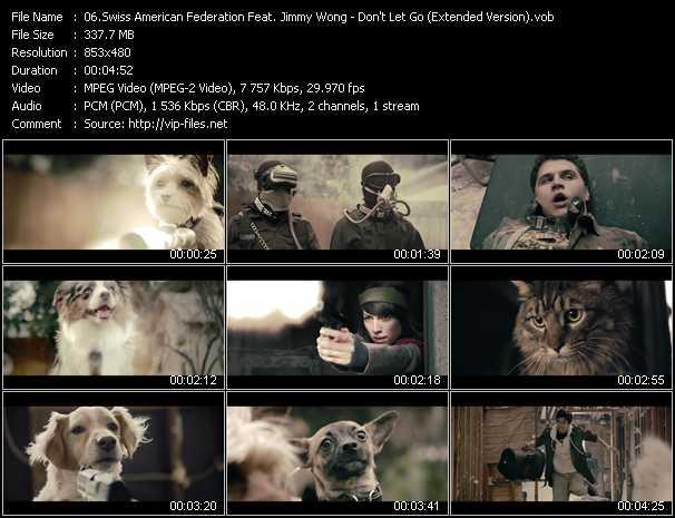Swiss American Federation Feat. Jimmy Wong video screenshot