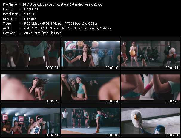 Autoerotique video screenshot