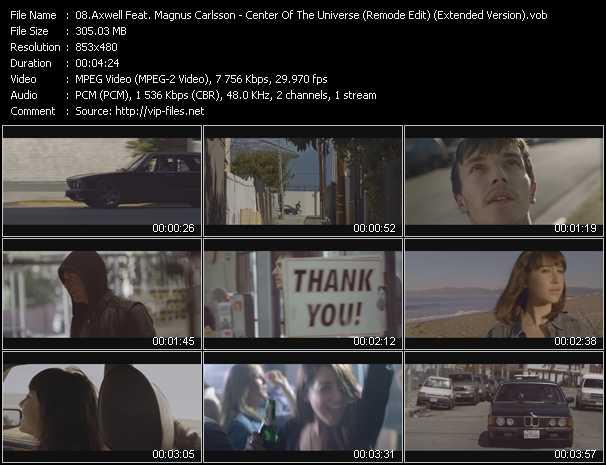 Axwell Feat. Magnus Carlsson video screenshot