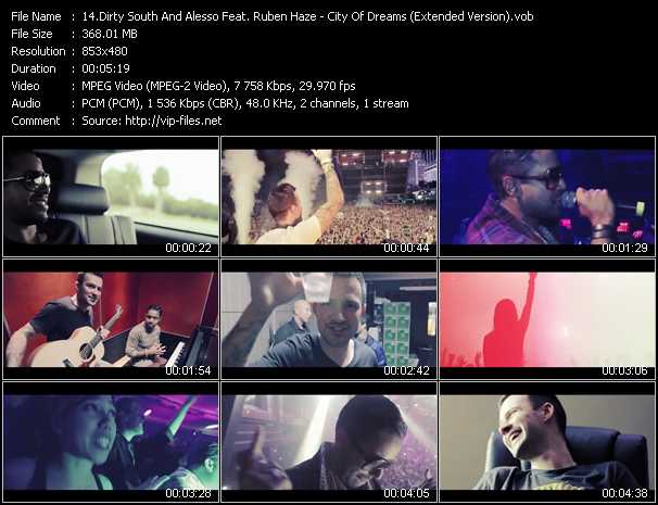 Dirty South And Alesso Feat. Ruben Haze video screenshot