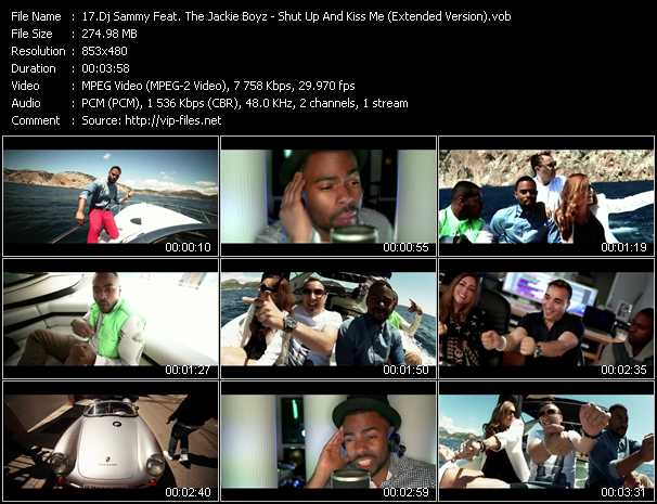 Dj Sammy Feat. The Jackie Boyz video screenshot