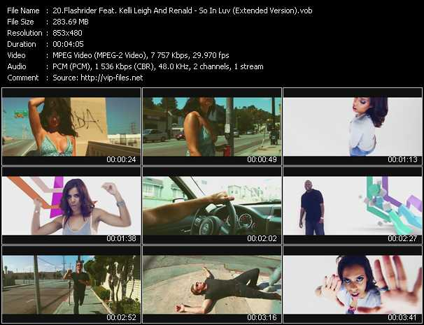 Flashrider Feat. Kelli Leigh And Renald video screenshot